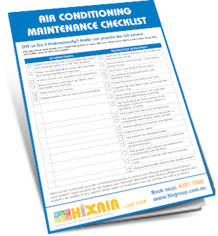 Click here for our Maintenance Checklist