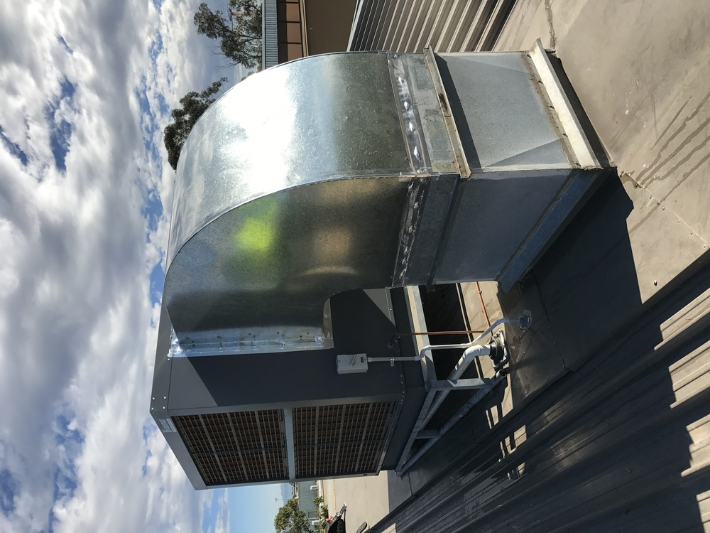 Evaporative Cooler Ducting Replacement